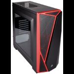 Corsair Carbide Spec-04 Midi-Tower Black,Red computer case