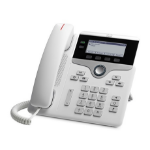 Cisco IP Phone 7821 Handset met snoer 2regels Wit IP telefoon