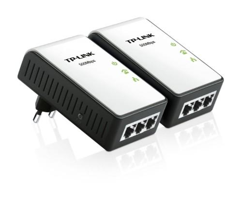 TP-LINK AV500 500 Mbit/s Ethernet LAN Black,White 2 pc(s)