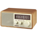 Sangean WR-11 Portable Analog Brown radio