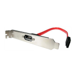 StarTech.com 1 Port SATA to SATA Slot Plate Bracket SATA cable