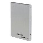 "Lian Li EX-10QA 2.5"" USB powered Silver HDD/SSD enclosure"