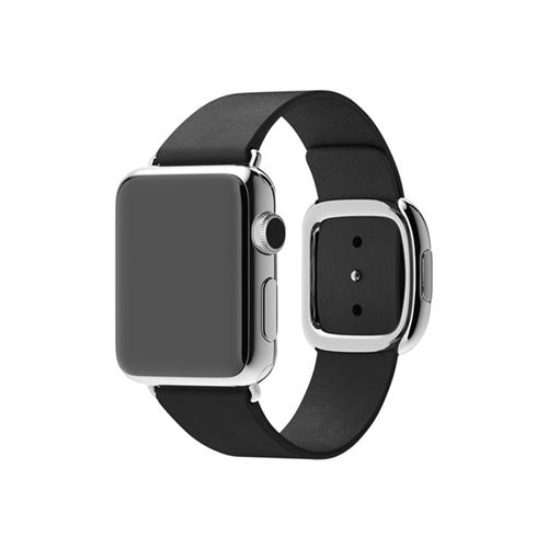 Apple 38mm Modern Buckle - Small - watch strap - black - for Watch (38 mm)