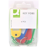 Q-CONNECT Q CONNECT KEY FOBS PK6