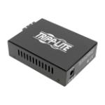 Tripp Lite N785-INT-SC-SM network media converter 1000 Mbit/s 1310 nm Single-mode Black