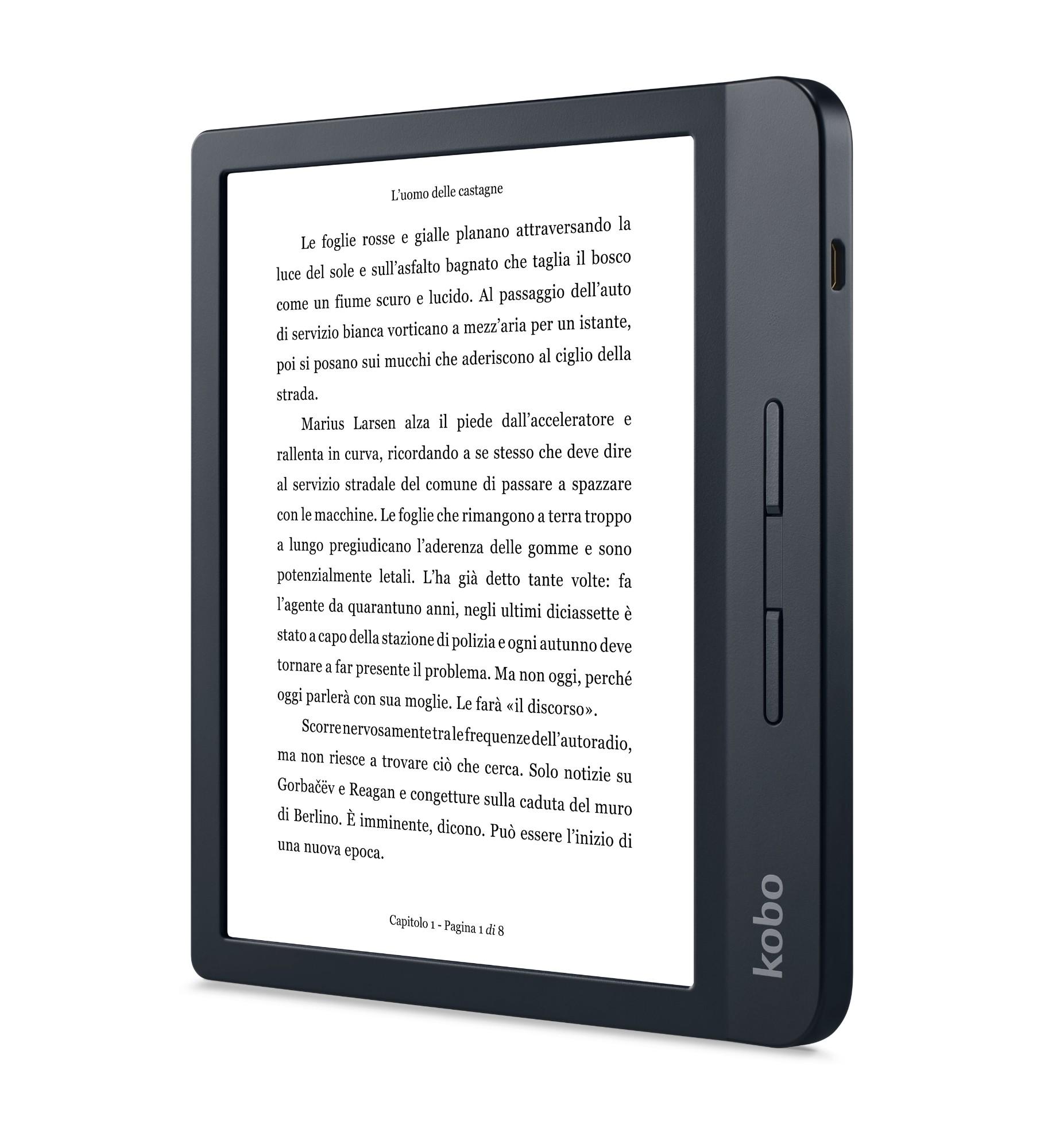 Rakuten Kobo Libra H2O lectore de e-book Pantalla táctil 8 GB Wifi Negro