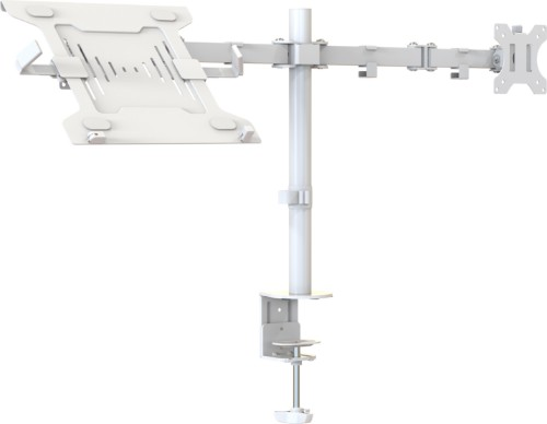 "Vision VFM-DPD2W+S notebook stand Notebook & monitor arm White 68.6 cm (27"")"