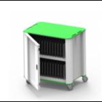 NUWCO PlasCart Portable device management cart Green, Grey