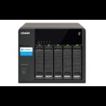 QNAP TX-500P disk array Black