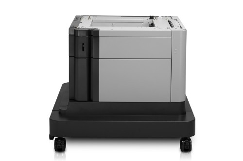 HP LaserJet 1x500-sheet Paper Feeder and Cabinet printer cabinet/stand