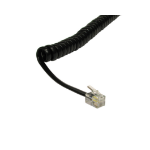 Cables Direct RJ-10 3m telephony cable Black