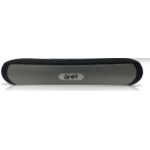 Ghia SPK-1444 Stereo portable speaker 6W Negro, Gris dir