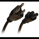 Tripp Lite Standard Laptop / Notebook Power Cord Lead Cable, 10A (NEMA 5-15P to IEC-320-C5), 3.05 m (10-ft.)