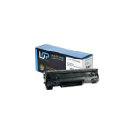 Click, Save & Print Remanufactured HP CE278X Black Toner Cartridge