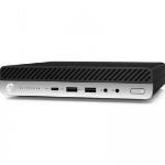 HP 800 EliteDesk G5 DM, i5-9500T, 16GB, 256GB SSD, WLAN, W10P64, 3-3-3 (Replaces 4ZE07PA)