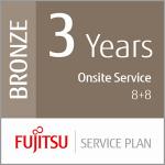 Fujitsu 3 Years On-Site Service 8+8