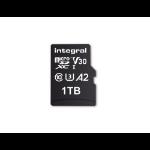 Integral INMSDX1TB-180/150V30 1TB MICRO SD CARD MICROSDXC UHS-1 U3 CL10 V30 A2 UP TO 180MBS READ 150MBS WRITE memory card 1000 GB MicroSD UHS-I