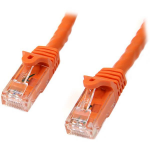 StarTech.com Cat6 Patch Cable with Snagless RJ45 Connectors - 10 m, Orange networking cable
