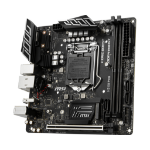 MSI H310I PRO Intel H310 Express LGA 1151 (Socket H4) Mini ITX