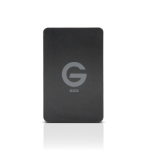 G-Technology G-DRIVE ev RaW external hard drive 500 GB Black