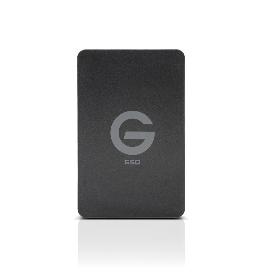 G-Technology G-DRIVE ev RaW 500GB Black external hard drive