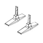 LG ST-201T flat panel spare part Stand