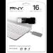 PNY Attaché 16GB 16GB USB 2.0 Capacity Black USB flash drive