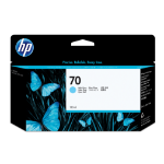 HP C9390A (70) Ink cartridge bright cyan, 130ml
