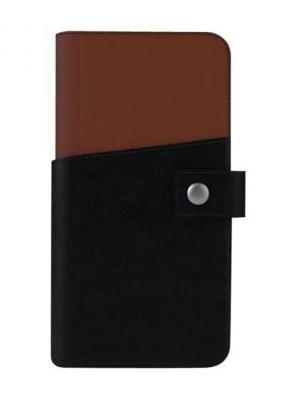 "Tactus OW002 Wallet Black,Tan 5.5"" mobile phone case"