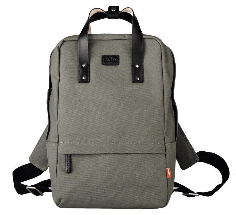 "Toffee Centennial Backpack for 13"" Messenger Shoulder Bags Khaki"