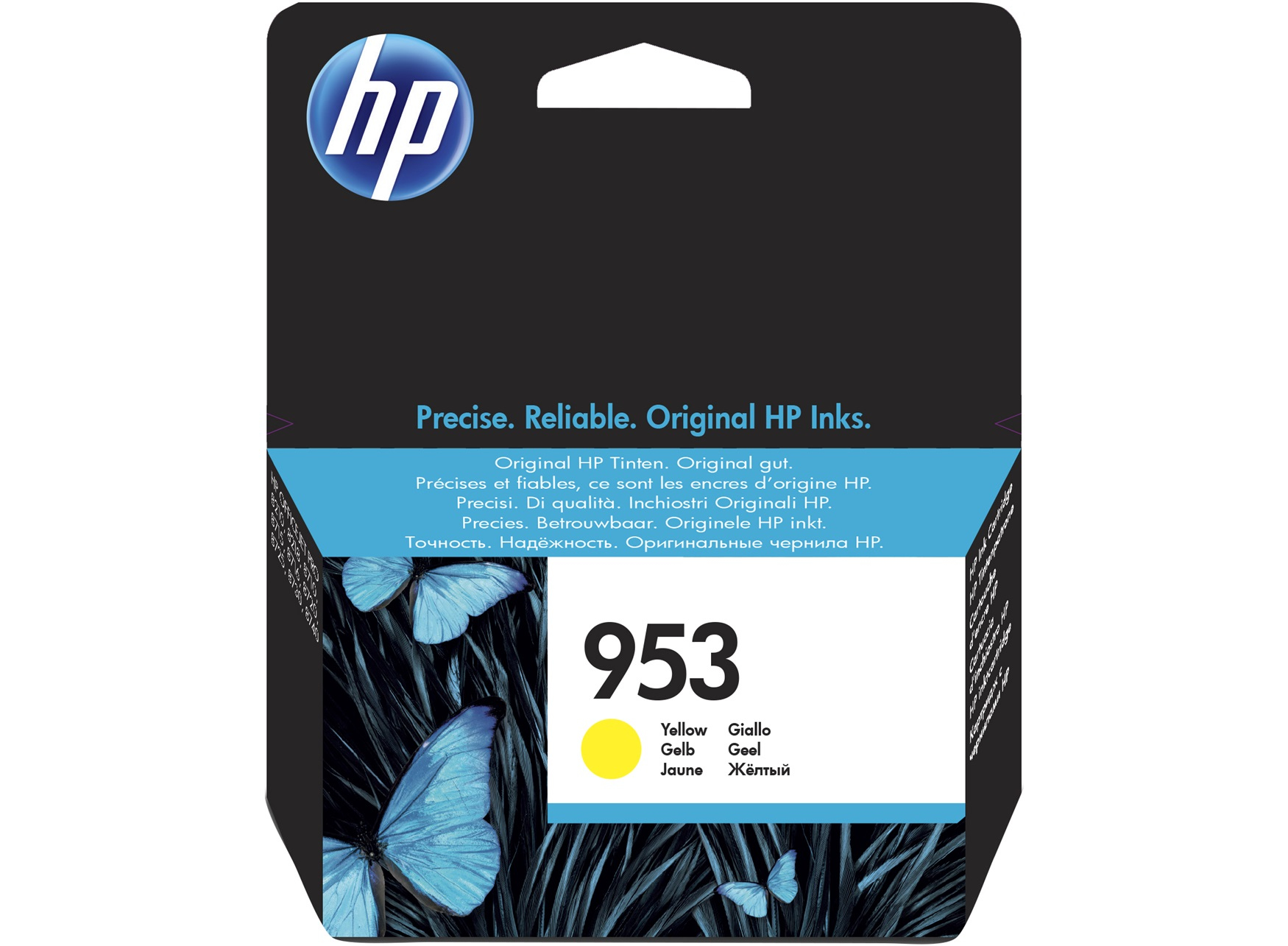 HP 953 Yellow Original Ink Cartridge Origineel Geel