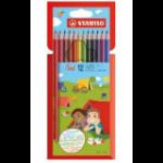 STABILO Trio colour pencil 12 pc(s)