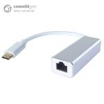 CONNEkT Gear USB Type C to RJ45 CAT 6 Gigabit Ethernet Adapter - Male to Female