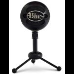 Blue Microphones Snowball Micrófono de superficie para mesa Negro