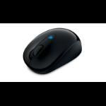 Microsoft Sculpt Mobile Mouse RF inalámbrico BlueTrack 1000DPI Ambidextro Negro ratone