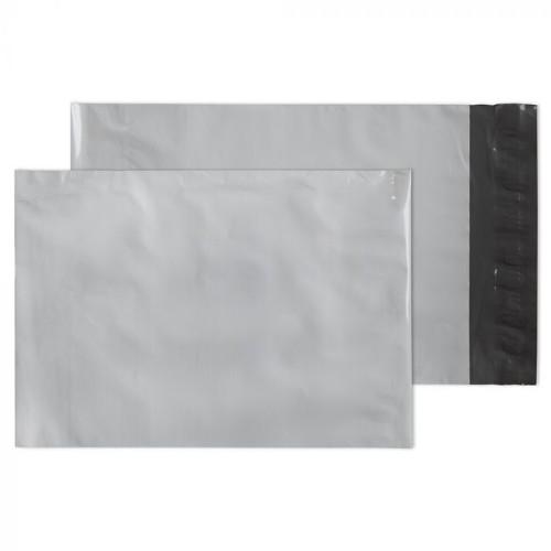 Blake POLYPOST POLYTHENE POCKET PEEL AND SEAL WHITE C5+ 238X165 envelope Polyethylene Grey