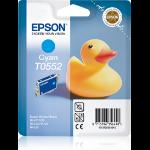 Epson Duck T0552 Original Cyan 1 Stück(e)