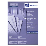 Avery Mylar Reinforced Dividers divider