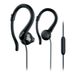 Philips ActionFit Sports headphones with mic SHQ1255TBK/00