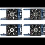 Hewlett Packard Enterprise ML110 Gen10 Redundant Fan Kit Computer case Black, Blue