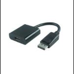 Microconnect Displayport - HDMI M-F DisplayPort HDMI Black