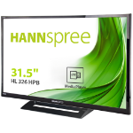 "Hannspree Hanns.G HL 326 HPB LED display 81.3 cm (32"") Full HD LCD Flat Black"