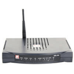 Zoom 5695 Black wireless router