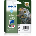Epson Owl inktpatroon Light Cyan T0795 Claria Photographic Ink