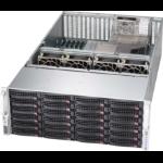 Supermicro CSE-846XE1C-R1K23B computer case Rack Black 1200 W