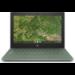 """HP Chromebook 11A G8 EE Verde 29,5 cm (11.6"""") 1366 x 768 Pixeles AMD A4 4 GB DDR4-SDRAM 32 GB eMMC Wi-Fi 5 (802.11ac) Chrome OS"""