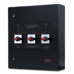 APC Smart-UPS VT Maintenance Bypass Panel power supply unit Black