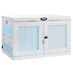 Tripp Lite CS16USBWHG portable device management cart/cabinet Portable device management cabinet White