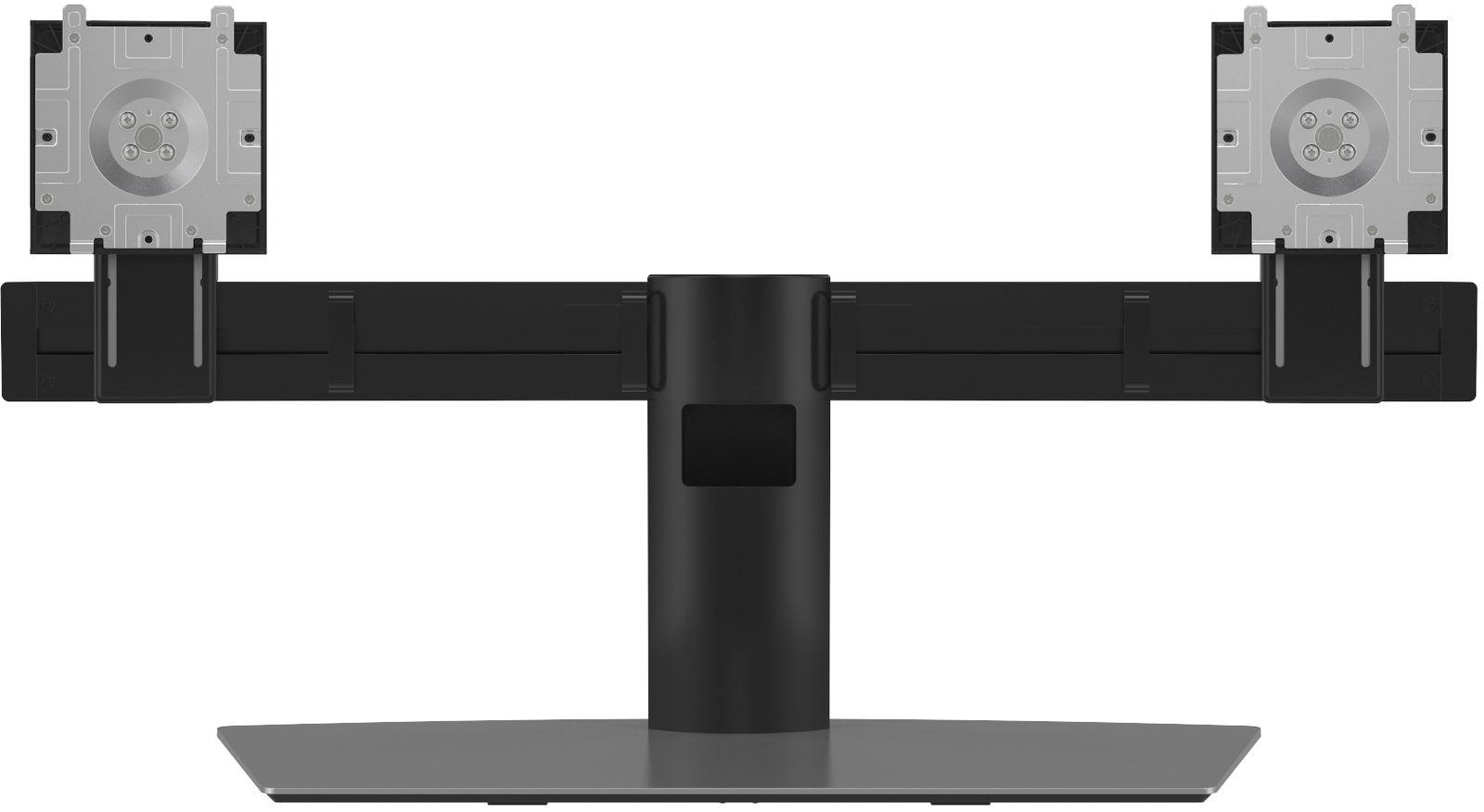 """DELL Dual Monitor Stand 68.6 cm (27"""") Aluminium,Black"""