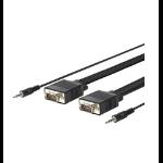 VivoLink 30m VGA + 3.5mm m/m 30m VGA (D-Sub) VGA (D-Sub) Black VGA cable